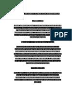 El Orden Jerarquico de Aplicacion de Las Normas