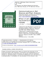 De Smet, J., Vanderdeelen J. & Hofman, G. (1998). Effect of Soil Properties on the Kinetics of Phosphate Release