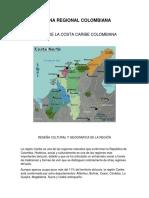 COCINA REGIONAL DE COLOMBIA