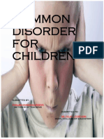 Common Disorder for Children