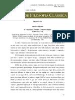 Aristóteles O Tratado Do Lugar e Do Vazio (Física IV, 1-9) - BELLINTANI