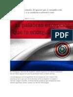 1 Palabras Excepcionales Del Guaraní Que Te Enorgullecerán de Ser Paraguayo