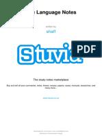 Stuvia 451798 Zulu Language Notes