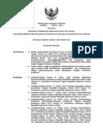 Peraturan Walikota Pedoman Hibah Nomor 3 Tahun 2012