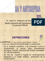 Clase 1 Asepsia y Antisepsia