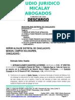 Sosa Descargo Papeleta 806 Abr 2019