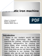 Automatic Iron Machine