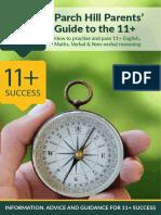 parent teacer guide for 11 plus