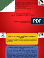 Presentacion Del Plan de La Patria 2019-2025