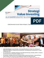 Value Investing Ala LKH