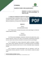 Resolução Nº 50 de 14 de Julho de 2017