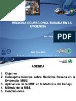 Medicinal Ocupacional Basada en La Evidencia Jorge Restrepo