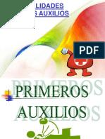 Primeros Auxilios Generalidades 2013-1