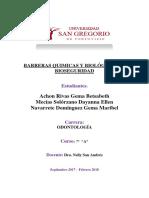 Barreras Quimicas y Biologicas