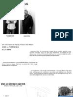 Aries Mateus Análisis arquitectonico