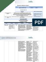 Planeación Didáctica UNIDAD 3-DHU