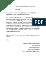 Documento de Papa VISITING WORLD