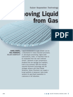 Removing Liquid From Gas