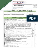 Ficha de Análisis Literario- LUZ DEL SABER