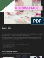 year 9 design task