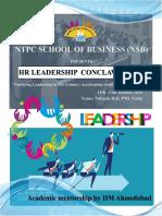 HR Conclave 2019 Brochure