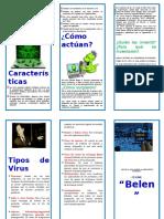 Triptico Virus Informático