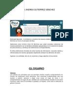 Instrucciones Glosario -Ética