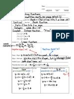 algebra two notes