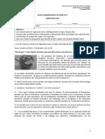 Guía Comprensión Lectora PSU n2 (Tercero y Cuarto)