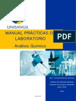 Manual Practicas de Laboratorio Unisangil Análisis Químico