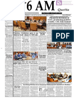 Daily 6 AM Quetta - 28 May 2019