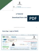 E-Tutorial - Download Form 16B