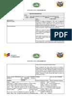 """PLANIFICACIÓN MICROCURRICULAR FISICA Tercer Año de Bachillerato Técnico en Agropecuaria, FIP. Producción Agropecuaria """"B"""""""