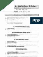 6.Applications Linéaires.corrigé