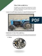 Informe Del Tractor