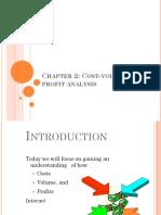 Chapter 2 Cvp Analysis