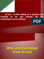 CJPE4 Basic Criminal Procedures (Arrest).ppt