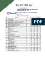 Presupuesto de Obra 2007