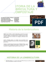 Historia de Lombricultura y Compostaje
