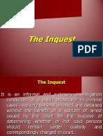 Inquest - Basic Criminal Procedures (Arrest)