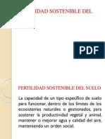 Fertilidad Sostenible Del Suelo