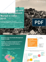 Flyer Waste to Energy Waste Management in India