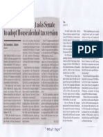 Business World, May 28, 2019, Finance department asks Senate to adop House alcohol tax version.pdf
