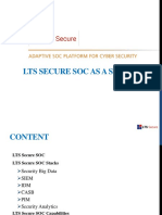 LTS Secure Intelligence driven SOC as a Service