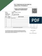 KSM 12015008 Semester 2 Tahun 2018-2019
