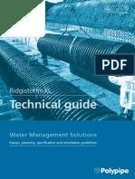 Ridgistorm Xl Technical Guide