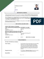SumitChopra BusinessDeveloper CV