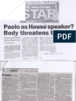 Philippine Star, May 28, 2019, Paolo as House speaker Rody threatens to quit.pdf
