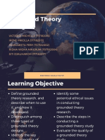 Grounded Theory Design