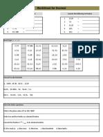 Daksh Worksheet P5 Decimal